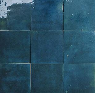 zellige z59 bleu petrole cimenterie de la tour