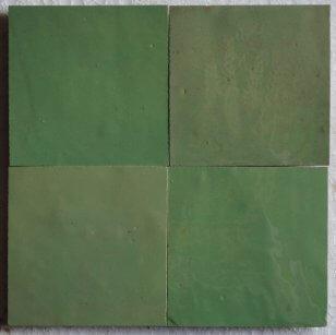 zellige z61 vert amende cimenterie de la tour