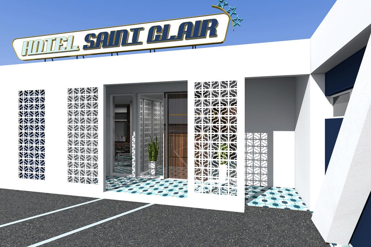 Interview : François Combaud signe l'hôtel Saint-Clair à la Grande Motte