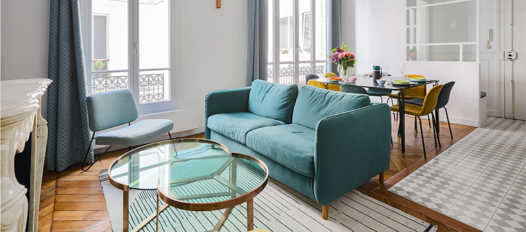 Un appartement parisien signé Atelier FB Architectes d'intérieur