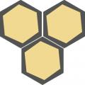 Carreau de ciment - Hexagone H10M003