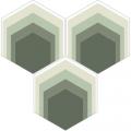 Carreau de ciment - Hexagone H20M0181