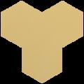 Carreau de ciment - Hexagone T10-106