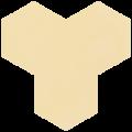 Carreau de ciment - Hexagone T10-108
