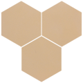 Carreau de ciment - Hexagone T10-117