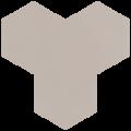 Carreau de ciment - Hexagone T10-12