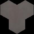 Carreau de ciment - Hexagone T10-37