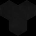 Carreau de ciment - Hexagone T10-9