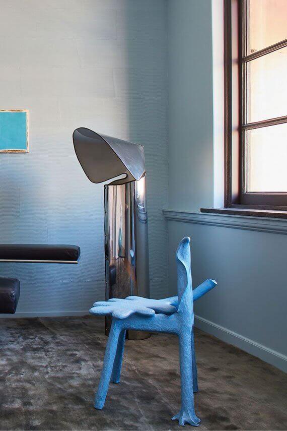 farrow and ball hazy bleu brume the california collection avec carreau de ciment cimenterie de la tour pour un interieur vitamine toute l annee